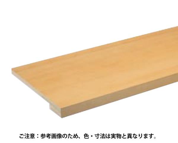 受注生産 玄関式台 オーガニックブラウン 450×45×2950mm 1本 WHS-U-BMK【永大産業】