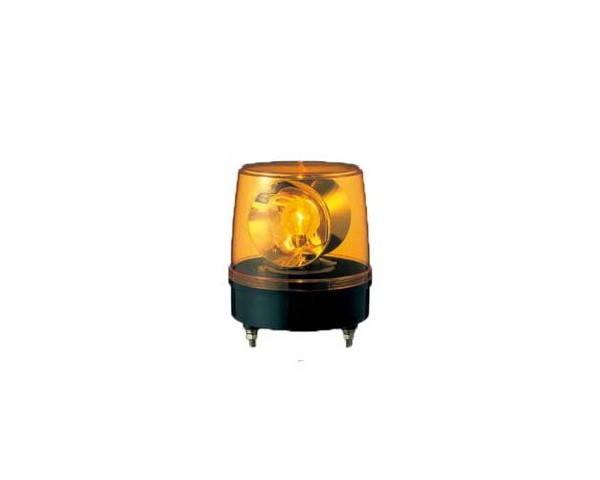 パトライト・大型回転灯-黄色・KG-100