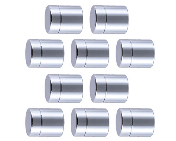飾りビス TB-1-12 スタンダード(真鍮)クローム 25×9×20