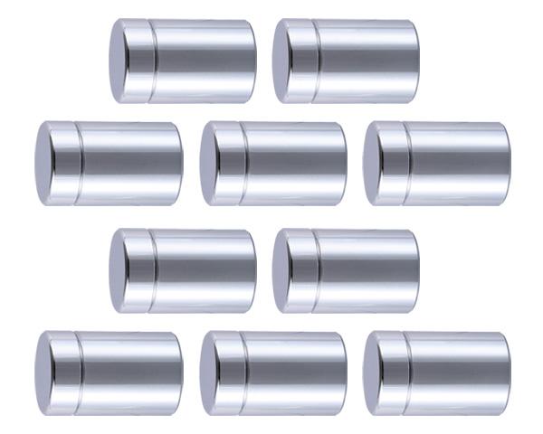 飾りビス TB-1-13 スタンダード(真鍮)クローム 25×9×30