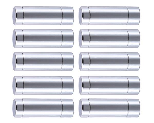 飾りビス TB-4-3 2プレート (真鍮) クローム 15×6×31×10
