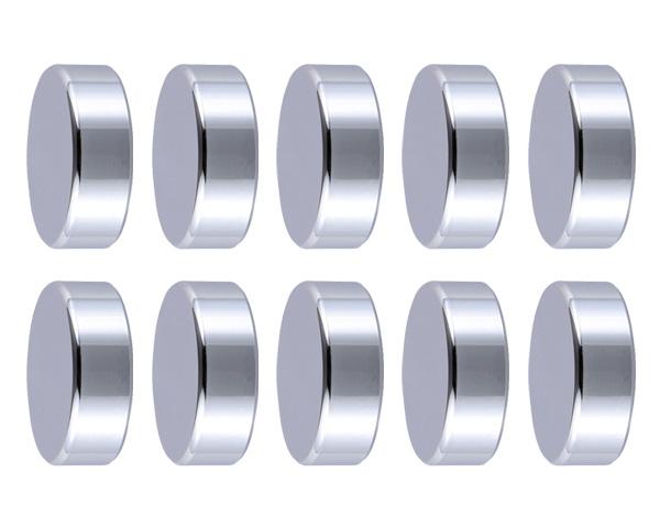 飾りビス TB-5-17 キャップ (真鍮) クローム 30×10