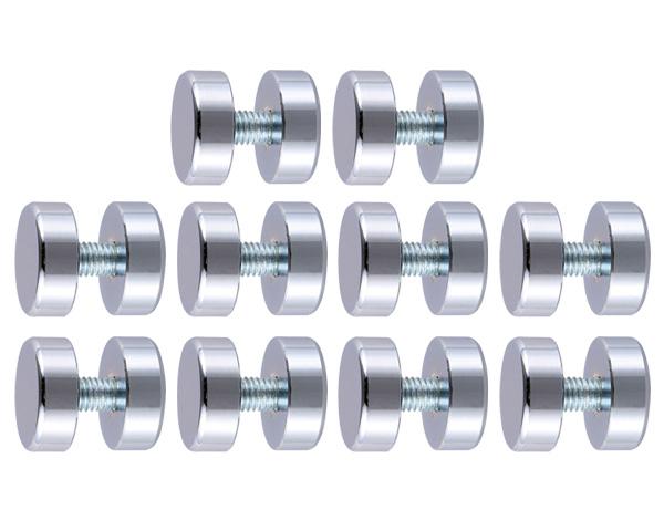 飾りビス TB-9-2 吊下(真鍮) クローム 25×10×10