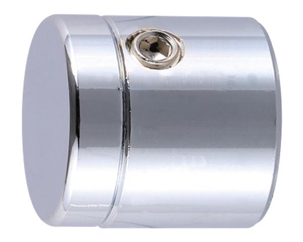 飾りビス TB-7-2 挟込 ストレート(真鍮) クローム 20×13