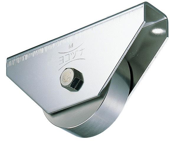 440Cベアリング入ステンレス重量戸車 200 平【1個入】 JCS-2002【ヨコヅナ】