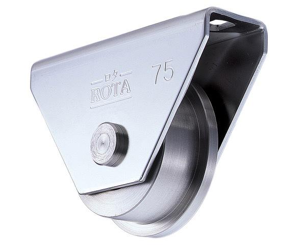 ロタ・ステン重量戸車 110 トロ【2個入】 WBS-1107【ヨコヅナ】