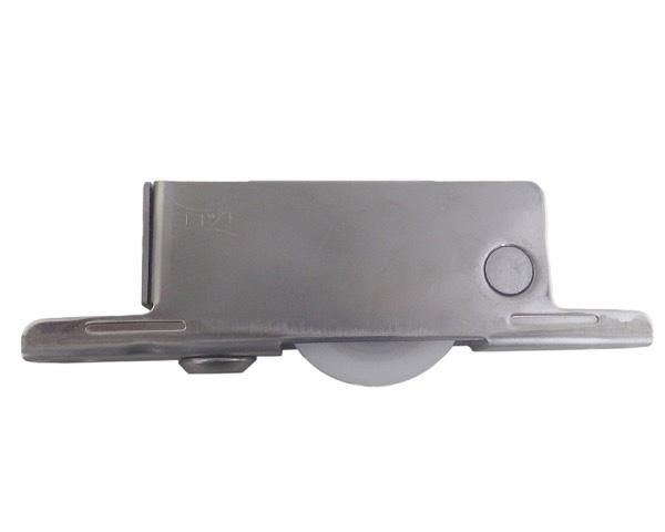 重量調整戸車ステン枠BRG入ジュラコン車 50 平【4個入】 TES-0502【ヨコヅナ】