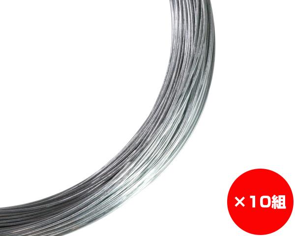 【まとめ買い10組】ユニクロ線 線径約1.2×約1-0m #18 入数1巻(約1Kg)×10組