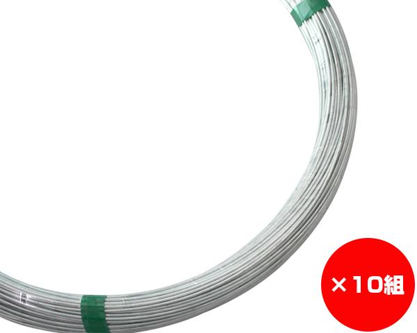 【まとめ買い10組】ユニクロ線 線径約2.6×約120m #12 入数1巻(約5Kg)×10組