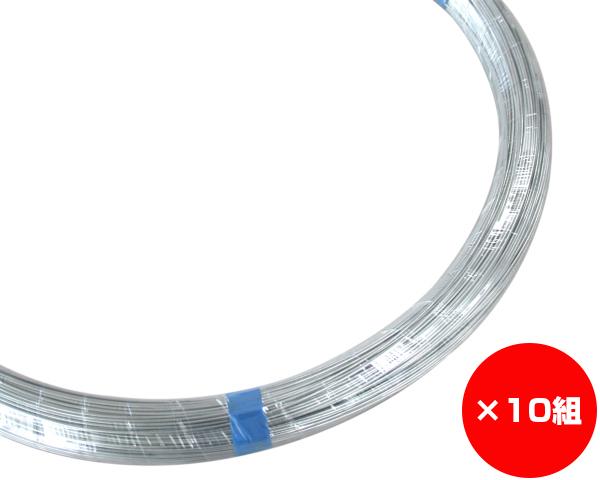 【まとめ買い10組】ユニクロ線 線径約1.6×約300m #16 入数1巻(約5Kg)×10組
