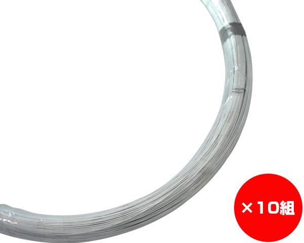【まとめ買い10組】ユニクロ線 線径約1.2×約550m #18 入数1巻(約5Kg)×10組