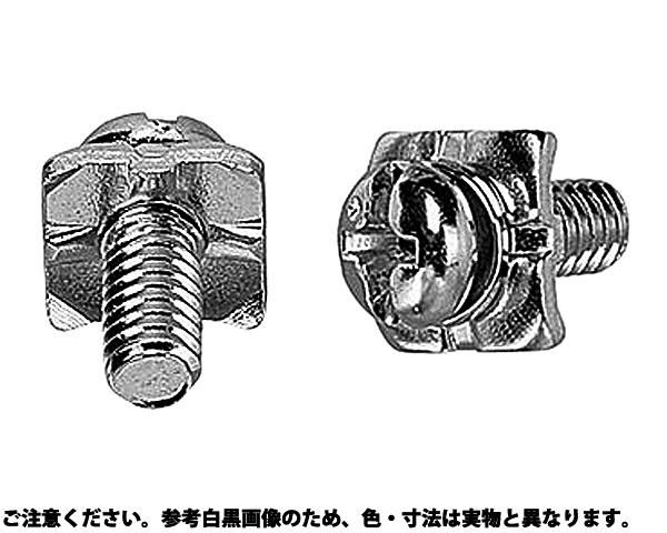 タンシ+-ナベSH6.8X1 表面処理(ニッケル鍍金(装飾) ) 規格(3X8(4)) 入数(2500)
