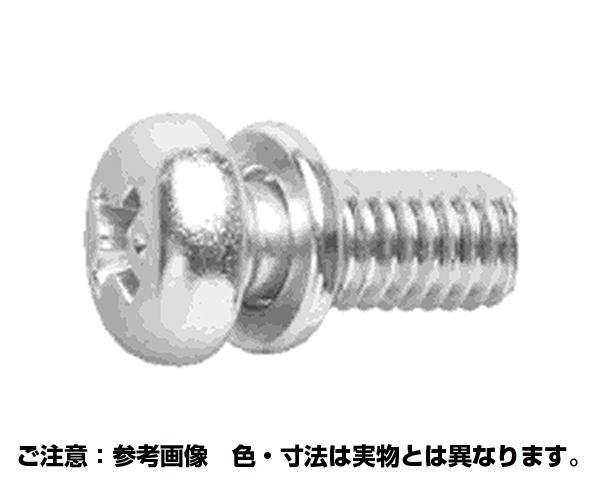 ピタック(+)ナベP=2 表面処理(三価ホワイト(白)) 規格(4X8) 入数(2000)
