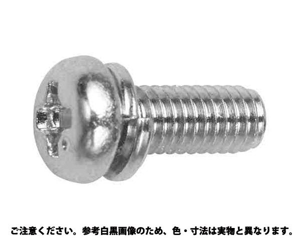 BSピタック(+)ナベP=2 表面処理(ニッケル鍍金(装飾) ) 材質(黄銅) 規格(3X12) 入数(3000)