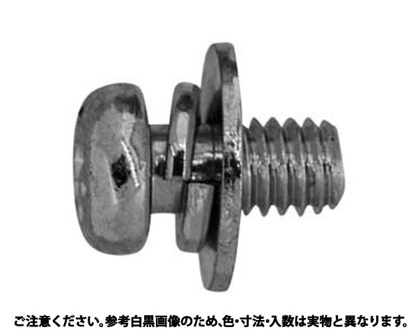 ステン(+)ナベP=3 表面処理(BK(SUS黒染、SSブラック)) 材質(ステンレス) 規格(4X6) 入数(1000)