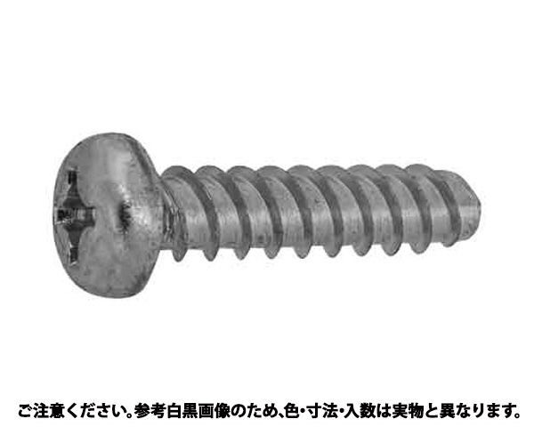Pタイプナベ 表面処理(三価ブラック(黒)) 規格(3X4Gナシ) 入数(7000)
