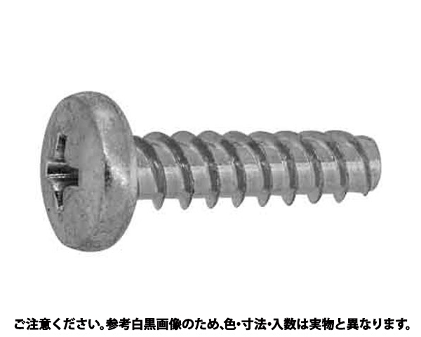 Pタイプバインド 表面処理(三価ホワイト(白)) 規格(2.6X6) 入数(7000)