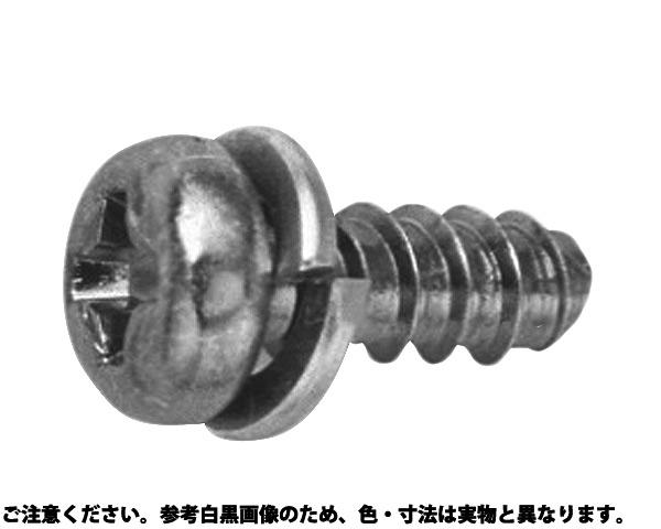 BタイプナベP=2 表面処理(三価ブラック(黒)) 規格(3X8) 入数(2000)