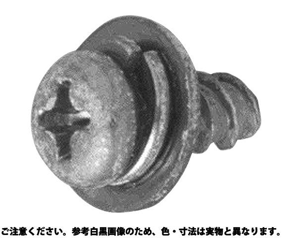 PタイプナベP=3 表面処理(三価ブラック(黒)) 規格(3X10) 入数(1200)