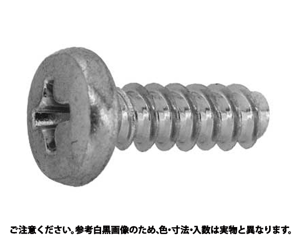 (+)DELTAPTバインド 表面処理(三価ホワイト(白)) 規格(3X8) 入数(2500)
