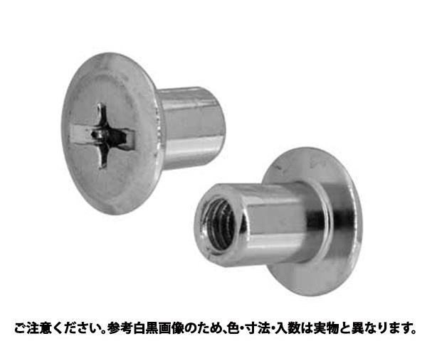 JCN(+-)カザリN 表面処理(GB(茶ブロンズ)) 規格(6X12) 入数(200)