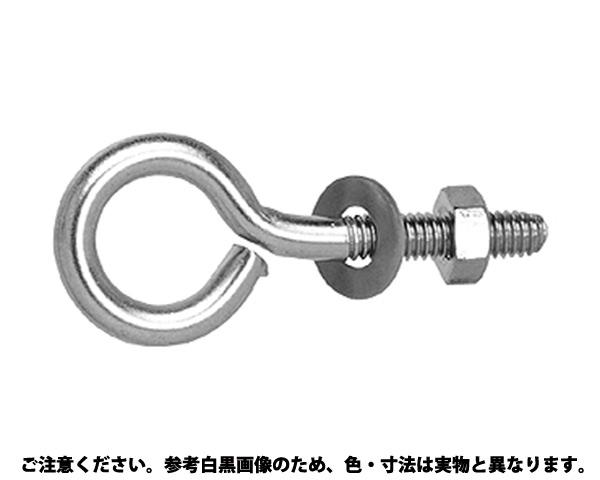SUS ヒートン(ナットツキ 材質(ステンレス) 規格(AS-13-8) 入数(200)
