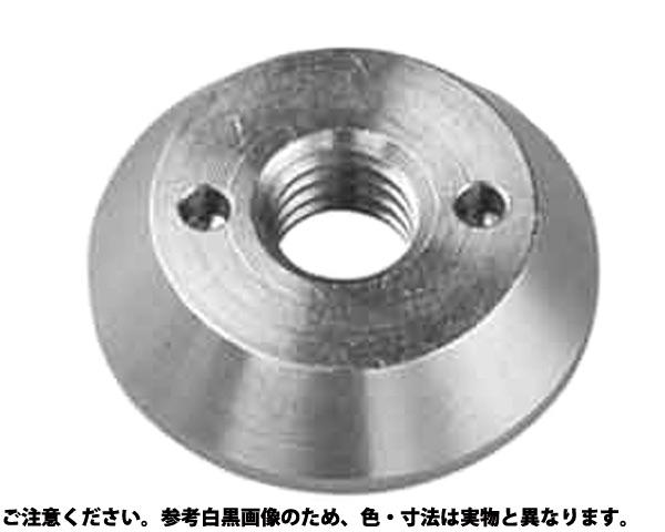 ツーホールナット(ダイカスト 表面処理(三価ホワイト(白)) 規格(M8) 入数(100)