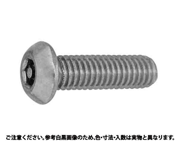SUSピン6カク・ボタンコ 表面処理(BK(SUS黒染、SSブラック)) 材質(ステンレス) 規格(3X10) 入数(100)