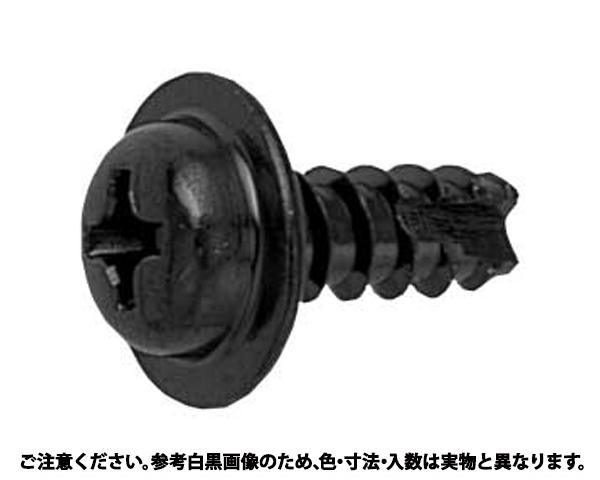 TPタッピンB1 表面処理(三価ブラック(黒)) 規格(4X12) 入数(1500)