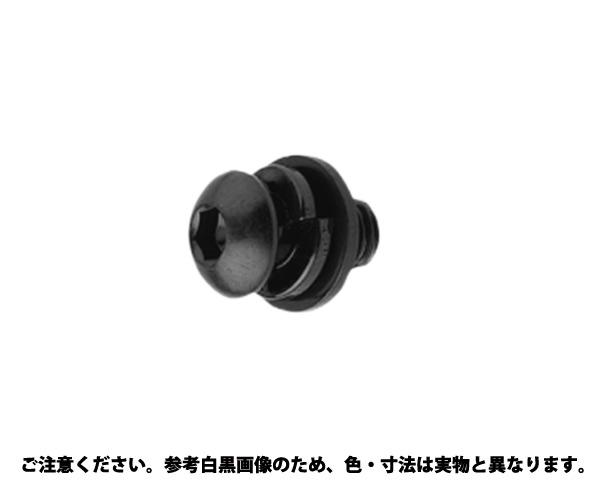 WAボタン-SPタイプ 表面処理(三価ブラック(黒)) 規格(3X12) 入数(1000)