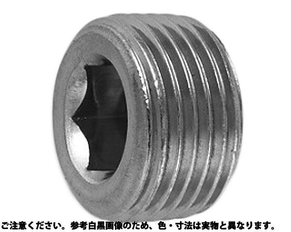SUSプラグB(シズミ 表面処理(ドライシール(5492タナカプリコート)) 材質(ステンレス) 規格(PT1/4) 入数(400)