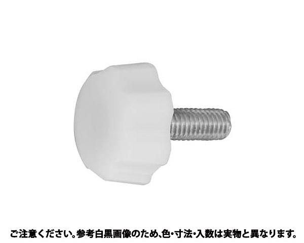 ハナボルト(シロ(NO.1 表面処理(三価ホワイト(白)) 規格(4X8) 入数(1000)