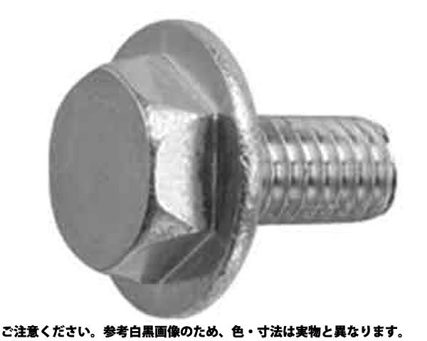 SUSフラットフランジボルト 材質(ステンレス) 規格(6X15) 入数(250)