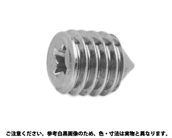 (+)トメネジ(ケンサキ) 表面処理(ユニクロ(六価-光沢クロメート) ) 規格(6X10.0) 入数(500)
