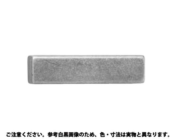 SUS316 リョウカクキー 材質(SUS316) 規格(6X6X22) 入数(100)