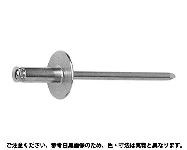B.R.TIWピールラージ 表面処理(三価ホワイト(白)) 規格(AS-66L.PL) 入数(500)