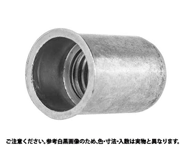 シンシート・ナットサート M4 表面処理(三価ホワイト(白)) 規格(9658-0413) 入数(1000)