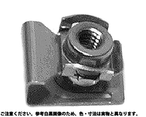 SUSラックナット 材質(ステンレス) 規格(RAC-M5C-40) 入数(500)