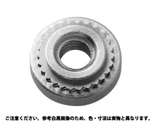入数(1000) 表面処理(三価ホワイト(白)) クリンチングナット 規格(TC-M3-1) ボーセイ