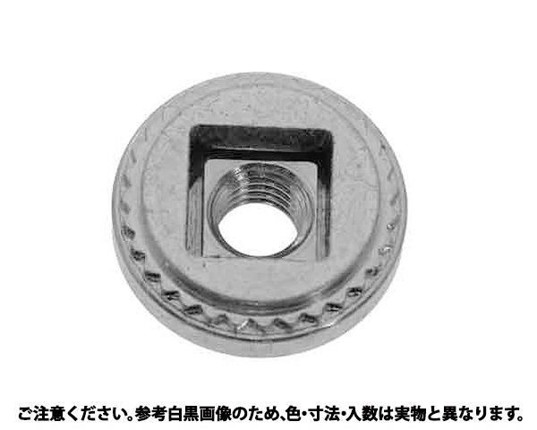 PEM フローティングナット 表面処理(三価ホワイト(白)) 規格(AS-M6-2) 入数(1000)