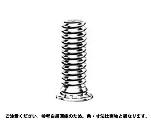 PEM クリンチングスタッド 表面処理(三価ホワイト(白)) 規格(FH-M4-8) 入数(1000)