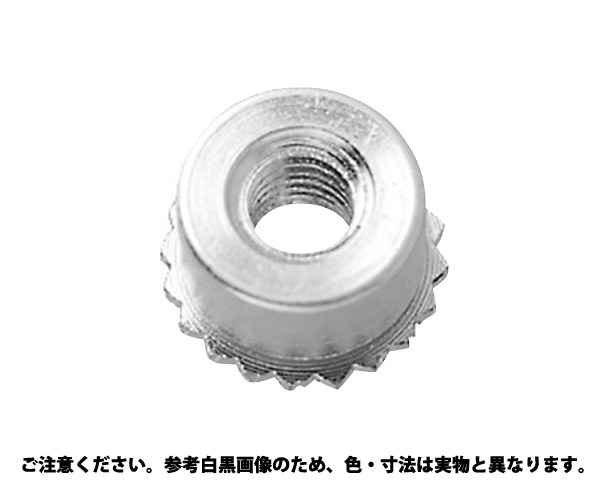 SUSクリンチングスペーサー 材質(ステンレス) 規格(FKSB-M4-12) 入数(1000)