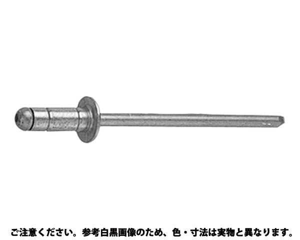 POPリベット     SSD 表面処理(三価ホワイト(白)) 規格(64HR) 入数(1000)