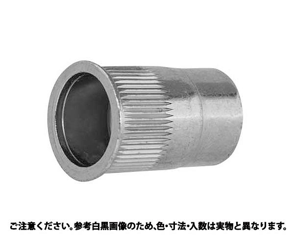 POPナット(ローレット SFH 表面処理(三価ホワイト(白)) 規格(535SFRLT) 入数(1000)