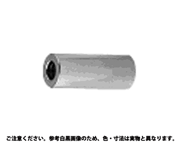 ECO-BSスペーサー 表面処理(ニッケル鍍金(装飾) ) 材質(黄銅) 規格(4X8X15) 入数(500)