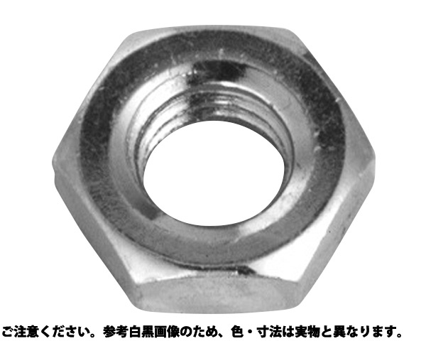 BS ホーマナット(3シュ 表面処理(ニッケル鍍金(装飾) ) 材質(黄銅) 規格(M2.6) 入数(5000)