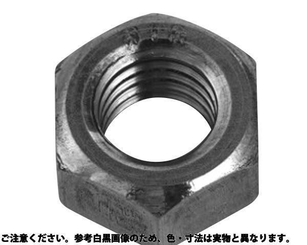 S45C(H)ナット(1シュ 表面処理(三価ブラック(黒)) 材質(S45C) 規格(M22) 入数(100)