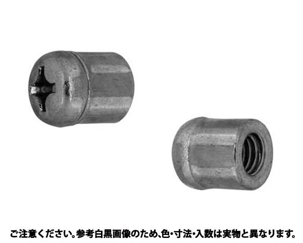 UFOナット(ナベ 表面処理(ユニクロ(六価-光沢クロメート) ) 規格(M4) 入数(1000)