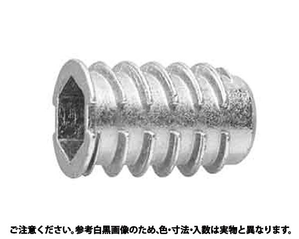Wシールド(ツバツキ(6アナ 表面処理(クロメ-ト(六価-有色クロメート) ) 規格(8X20(D=13) 入数(350)