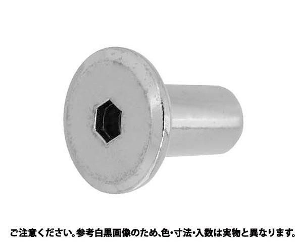 JCN6カクアナ4ヒラD17 A 表面処理(GB(茶ブロンズ)) 規格(6X17) 入数(300)